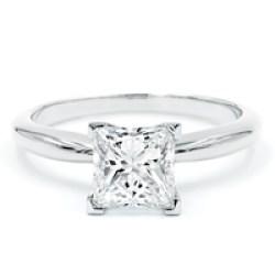 Princess Cut Pre-Set Engagement Ring