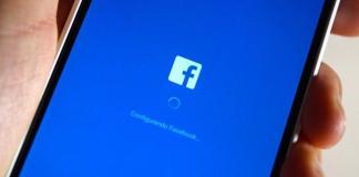 interfaz de Facebook