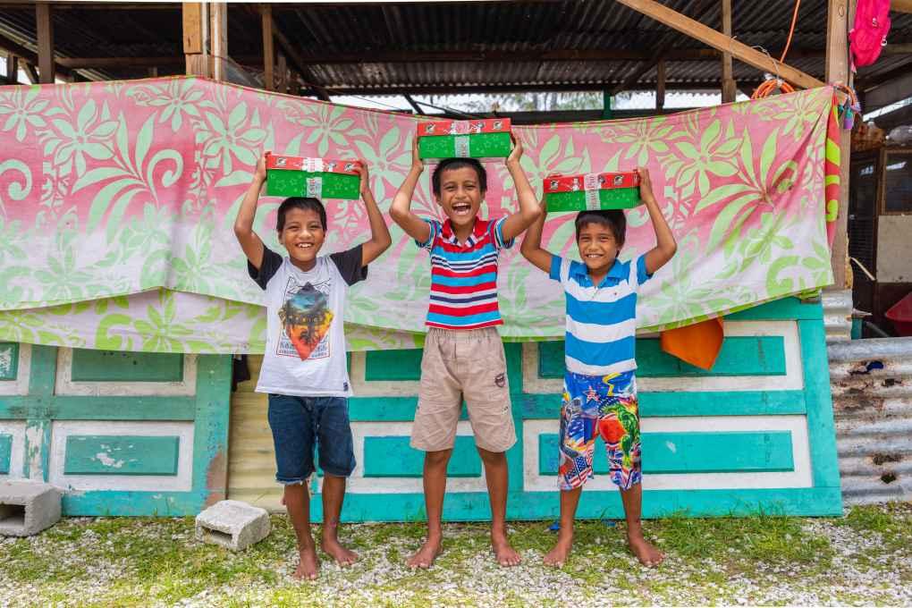 Kiribati - Operation Christmas Child