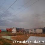 incendiu fabrica de ciocolata Beius 3