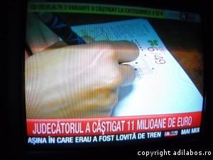 RTV burtieră judecător milionar loto
