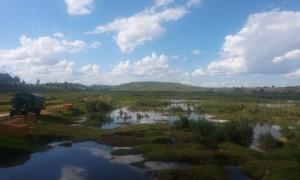 camp cu apa in Madagascar