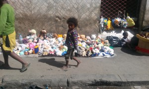Copil in Antananarivo Madagascar 1