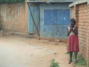 Copil in Antananarivo Madagascar 3