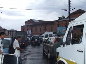 trafic aglomeratie Antananarivo Madagascar2