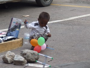 Copil in Antananarivo Madagascar 4