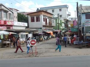 stradă din Antananarivo