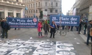 fete pe strada drepturile omului Viena (3)