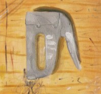 John Tran, Painting as Object Assignment, Intro to Painting, MassArt, 2011
