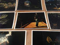 """Printed inverted photos of watercolors, 5"""" x 7"""" each, 2013"""