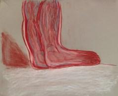 C. Sanders, Anatomical Detail, Drawing Fundamentals, MassArt Summer Intensives, 2013