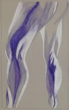 K. Leuenberger, Anatomical Detail, Drawing Fundamentals, MassArt Summer Intensives, 2013