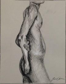 L. Ancona, Figure Composition, Drawing Fundamentals, MassArt Summer Intensives, 2013