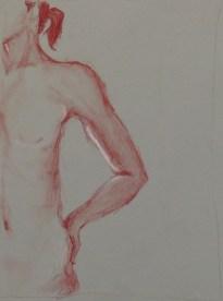 G. Anderson, Quick Figure Drawing, Drawing Fundamentals, MassArt Summer Intensives, 2013