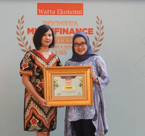 Adira Finance Meraih 5 Penghargaan di Indonesia Multifinance Consumer Choice Awards 2018