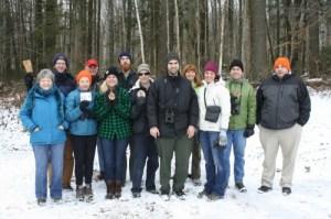 Invasive insect forest survey workshop participants.