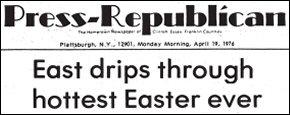 PPR Headline 19 Apr 1976