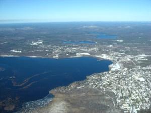 Over Tupper Lake
