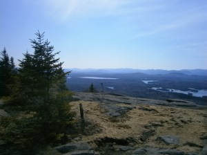 View from St Regis Mountain
