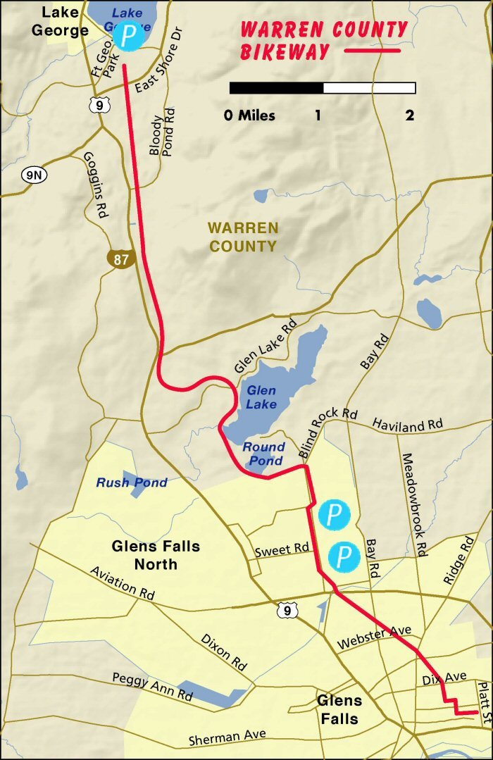 Image result for warren county bike trail map