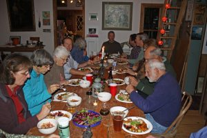 Gardeners dining