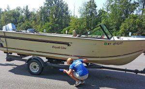 LGA Lake Steward looking for AIS