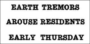 19351106 MalFarmer earthquake headline