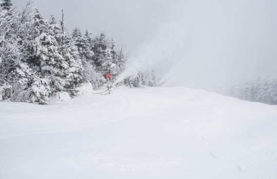 Snow Guns On Whiteface Mid-Dec (ORDA-Whiteface Photo)