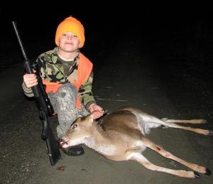 deer hunted with an air rifle in 2008