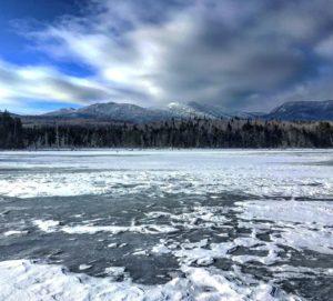 Boreas Ponds Frozen