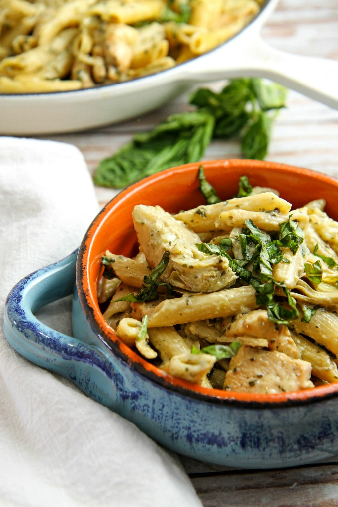 Chicken Pesto Pasta A Dish Of Daily Life