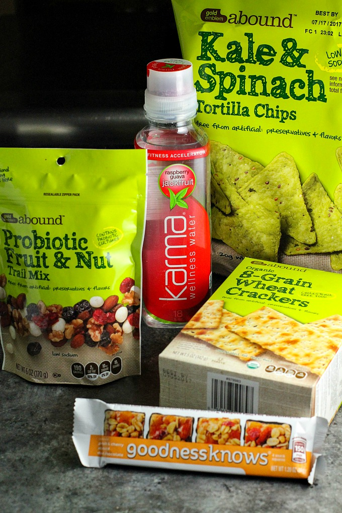 CVS Healthy Food Choices for snacking and lunchtime
