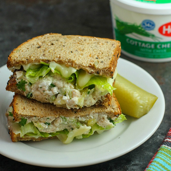 Prime Healthier Chicken Salad Recipe With Cottage Cheese Home Interior And Landscaping Palasignezvosmurscom
