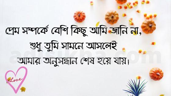 Bengali love status for Fb