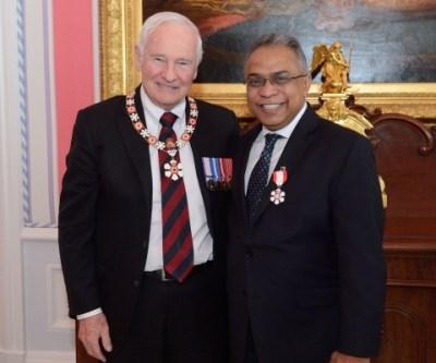 Order of Canada Felicitation Speech
