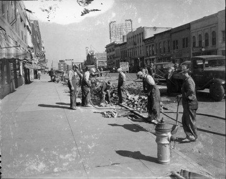 WPA workers photo