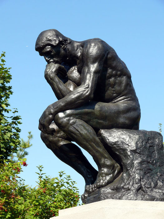 Image of The Thinker