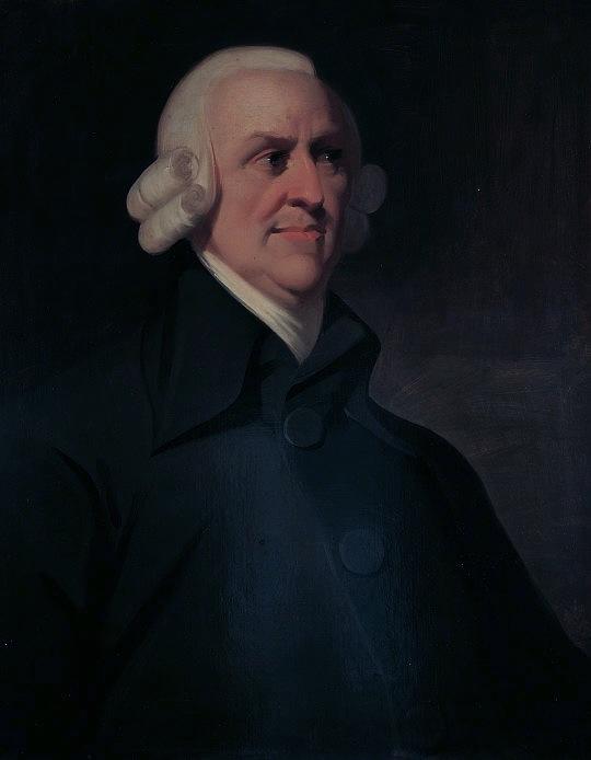 The Muir portrait of Adam Smith