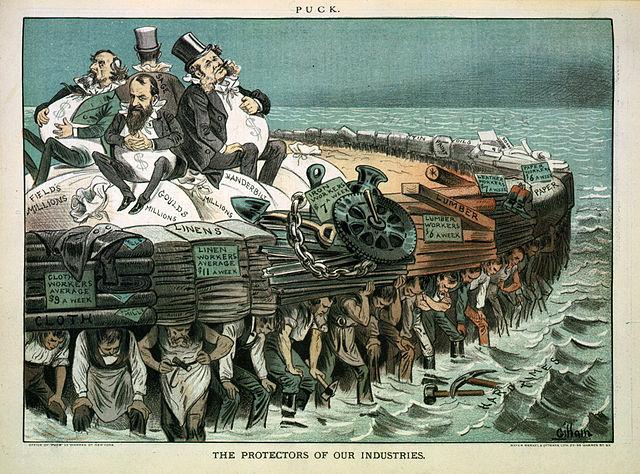 "Progressive era view of the ""Robber Barons"""
