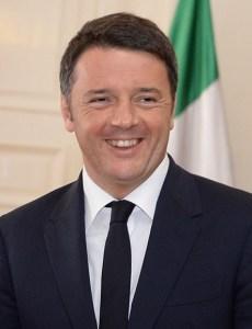 Italian Prime Minister Matteo Renzi in 2015