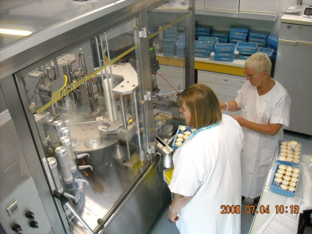 Automated pharmacology production