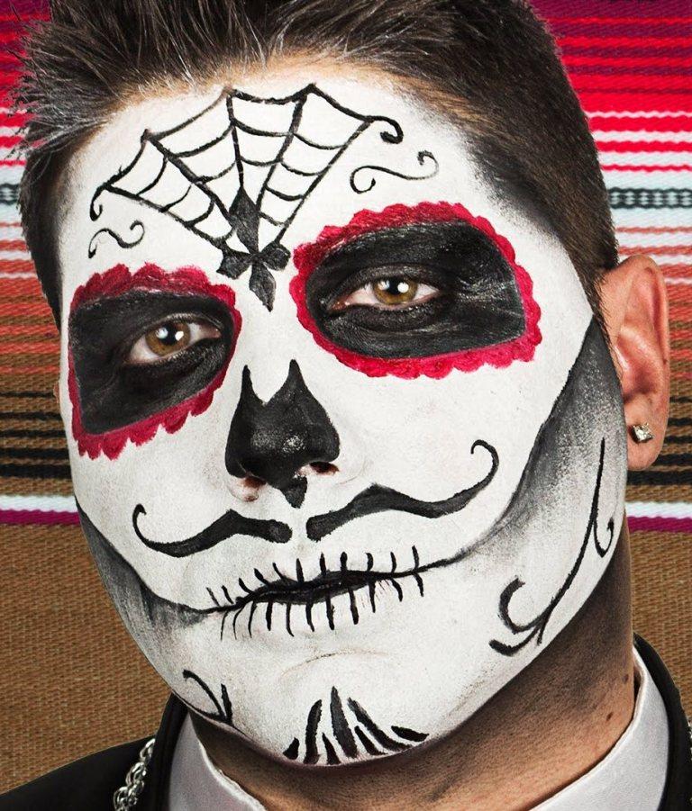 Sugar Skull Makeup For Men Saubhaya