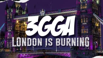 "Photo of 3gga  ""London is burning"""