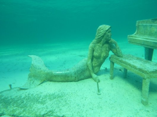 Yes, it's true there are mermaids in the Exumas! (Rudder Cut Cay)
