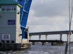 Three bridges in quick succession near Stuart