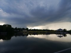 Ugly weather approaching - Oswego Canal