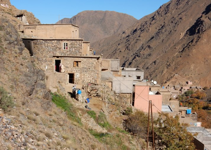 Vertical villages