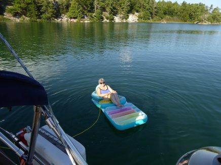 Me enjoying a peaceful float...