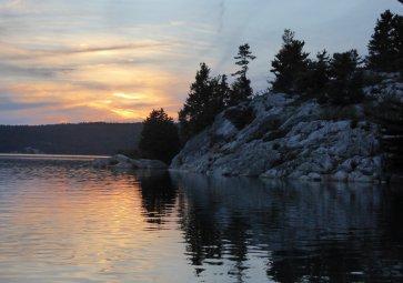 Sunset, Pine Island