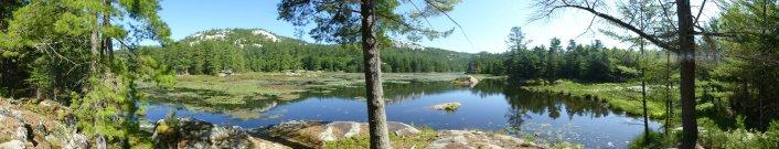 Artists Lake panorama
